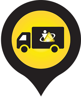 mobile research lab icon