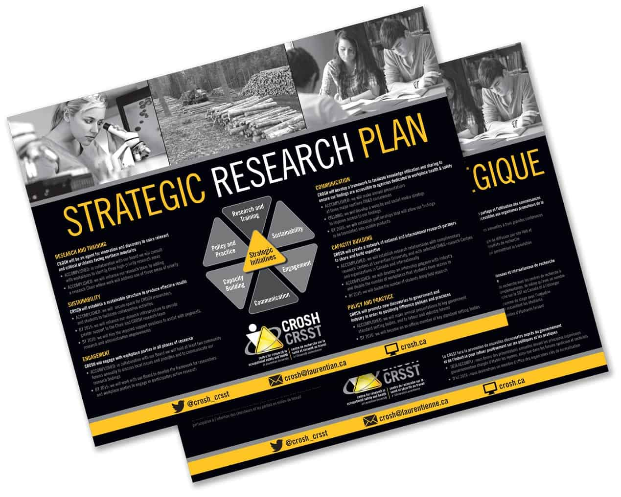 Strategic Research Plan leaflet