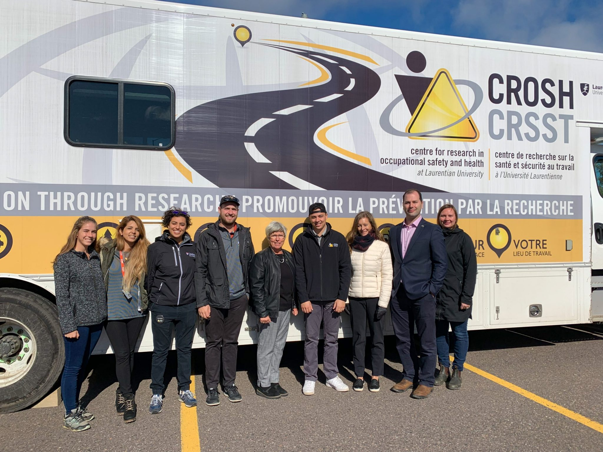 CROSH members pose with MPP