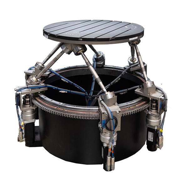 Robotic vibrating platform called a rotopod